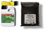Dog Spot Repair Package Combo- TurfPro Quart  Sprayer Plus 2 lb TurfPro Dry